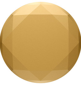 Popsockets PopSockets | PopGrip (Complete swappable PopGrip) Metallic Diamond Medallion Gold 123-0024