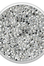 Popsockets PopSockets | PopGrip (Complete Swappable PopGrip) Silver Crystal 123-0055