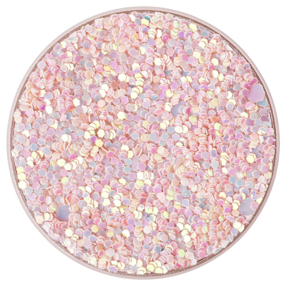 Popsockets PopSockets | PopGrip (Complete Swappable PopGrip) Sparkle Rose 123-0019