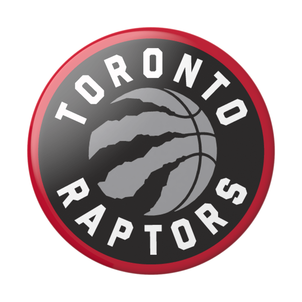 Popsockets PopSockets | PopGrip (Complete Swappable PopGrip) Toronto Raptors 123-0079