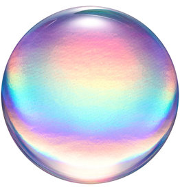 Popsockets PopSockets | PopGrip (Complete Swappable PopGrip) Rainbow Orb Gloss 123-0080