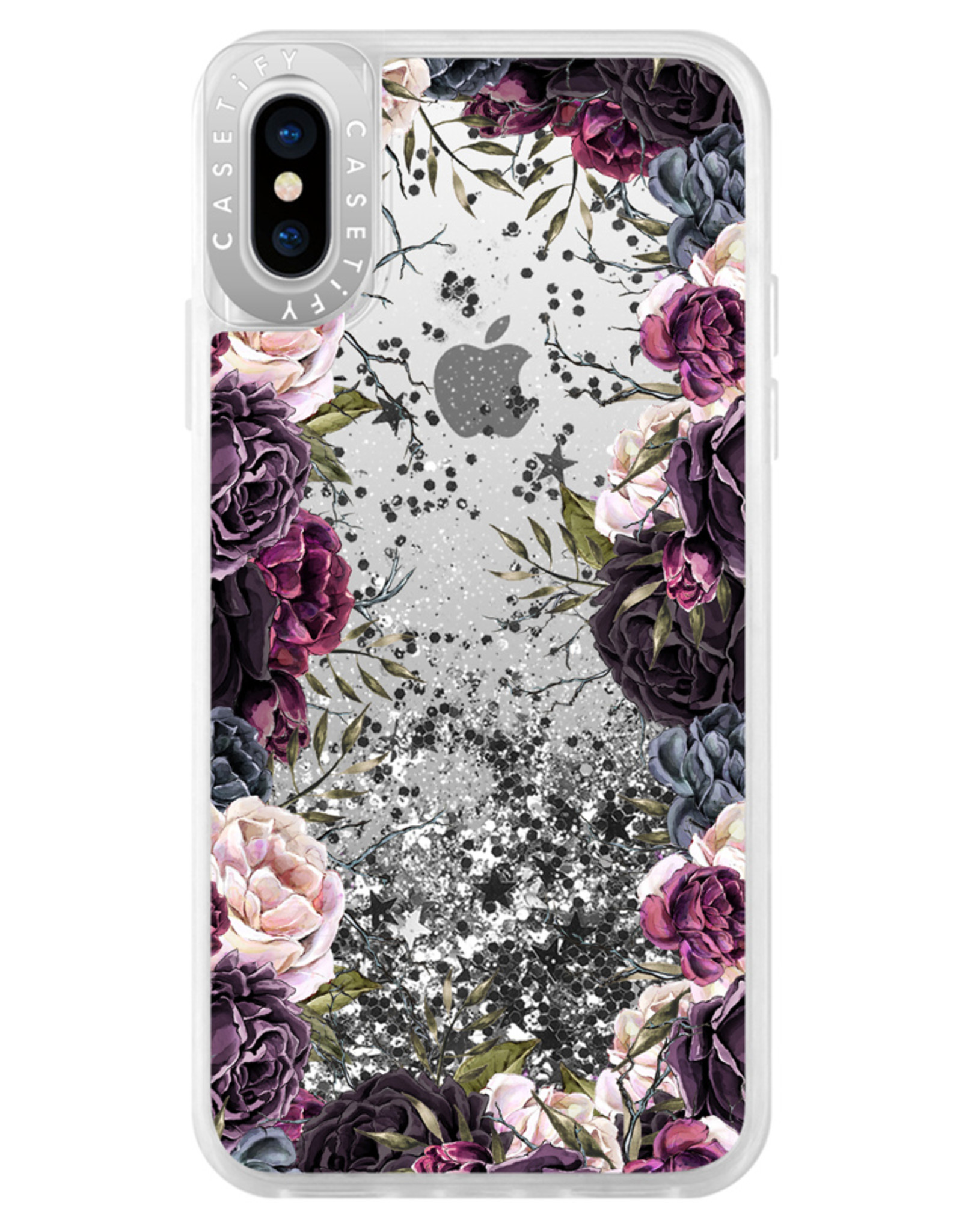 Casetify /// Casetify | Glitter iPhone XS/X My Secret Garden Case 120-1206