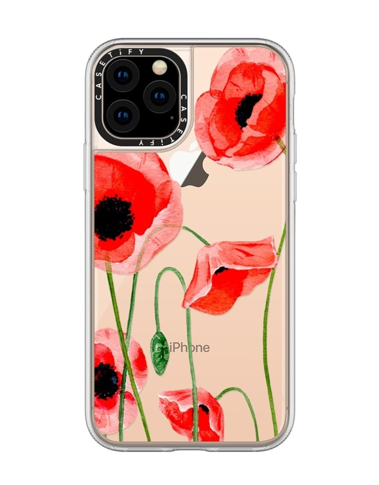 Casetify Casetify | Grip Case iPhone 11 Pro Red Poppies 120-2474