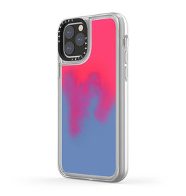 Casetify Casetify | Neon Sand iPhone 11 Hotline (Blue/Pink) 120-2486