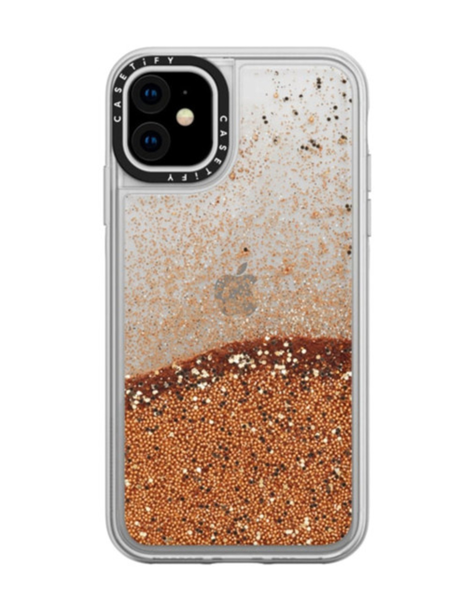 Casetify /// Casetify | Glitter iPhone 11 Gold Chrome 120-2469