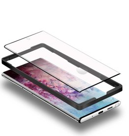 Blu Element XXX Blu Element | 3D Curved Glass Screen Protector with Installation Kit Black for Samsung Galaxy Note10+ 118-2162