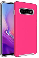 Blu Element Blu Element   Armour 2X Case Pink for Samsung Galaxy S10+ 120-1435