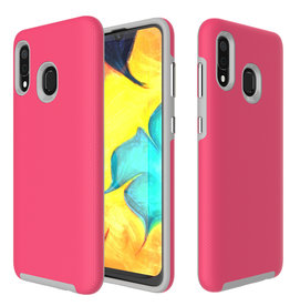 Blu Element Blu Element - Armour 2X Case Pink for Samsung Galaxy A20 120-2019