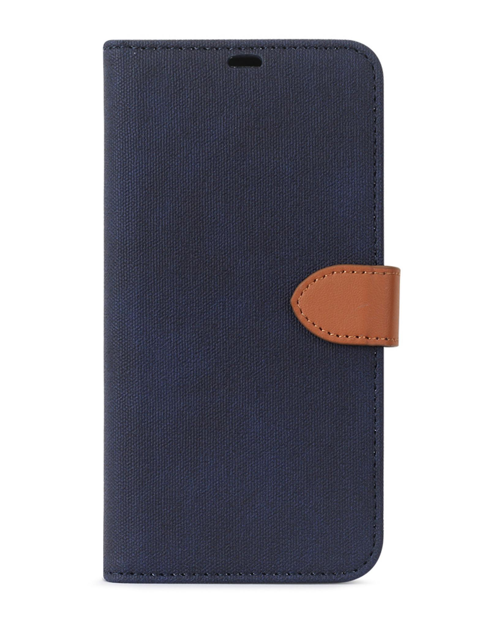 Blu Element Blu Element |  2 in 1 Folio iPhone 11 Pro Navy/Tan 120-2131