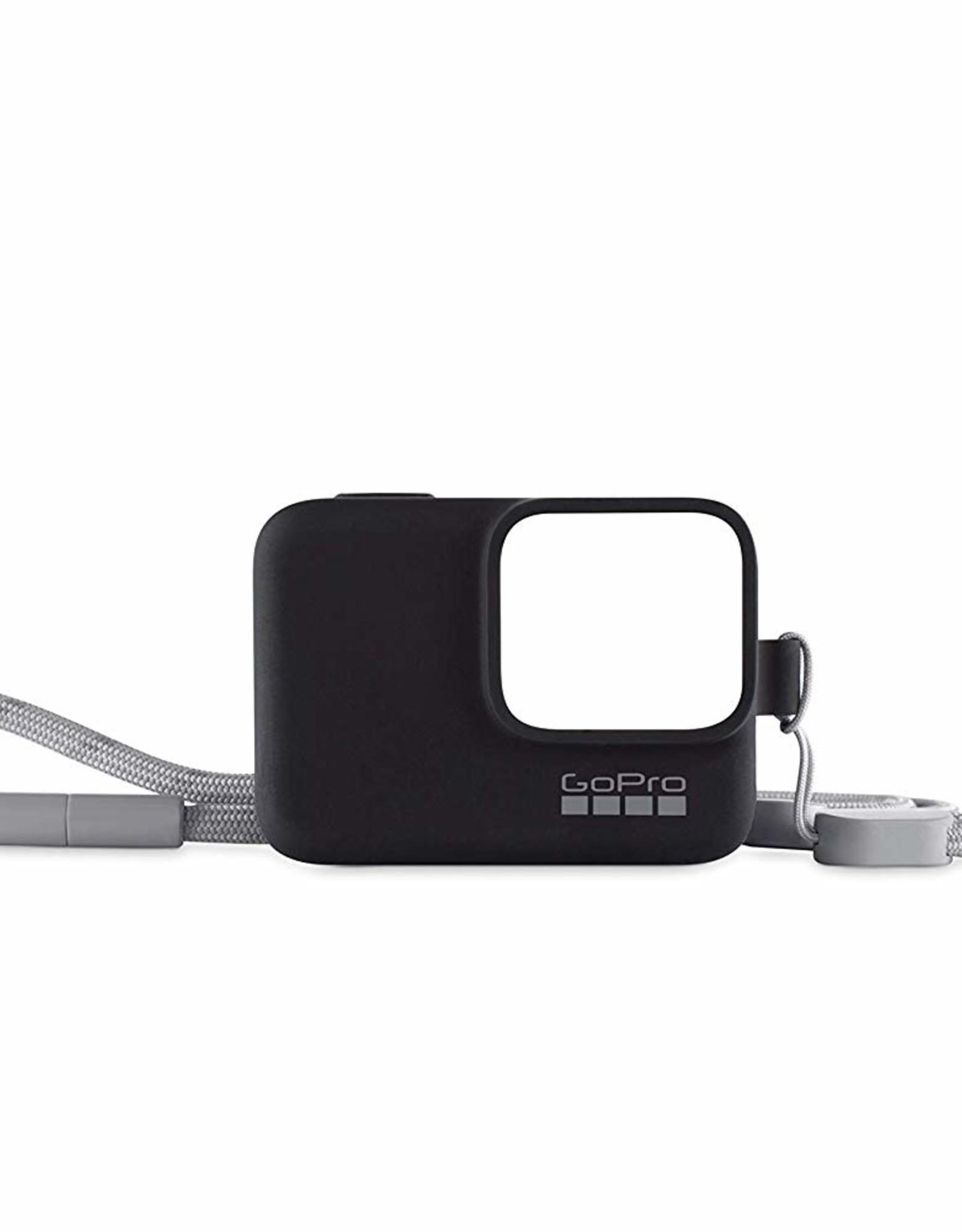 GoPro GoPro Sleeve + Lanyard (Black) GP-ACSST-001