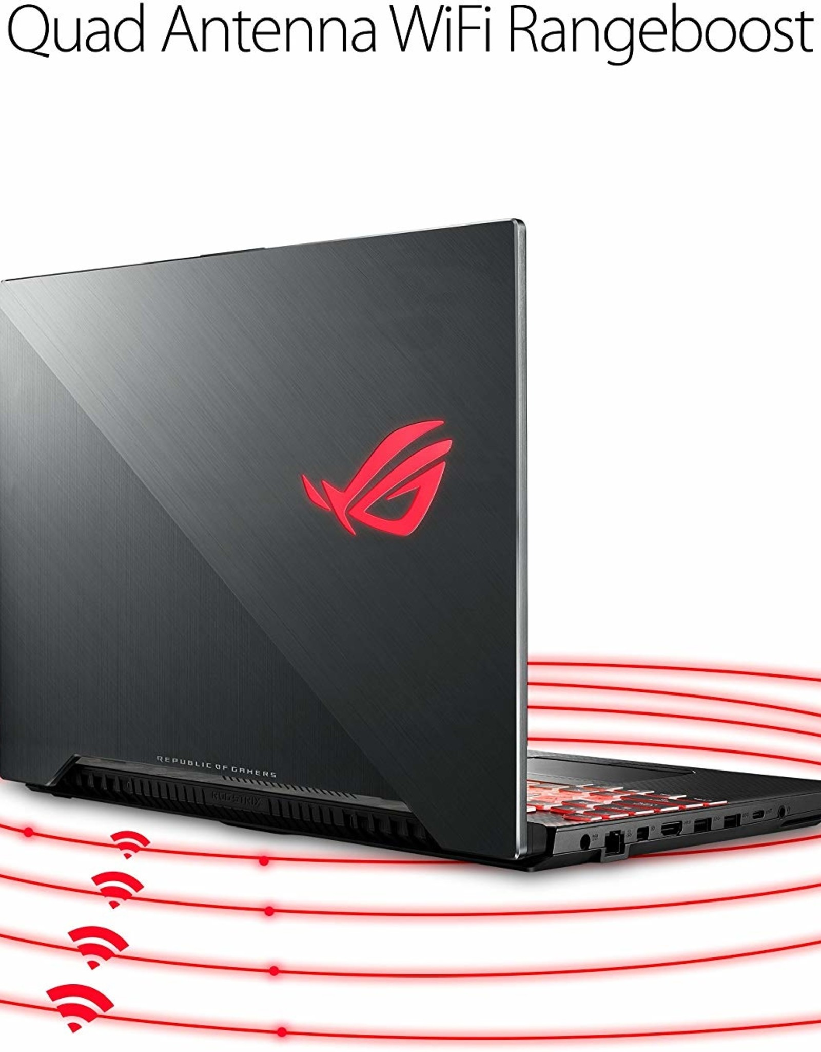 Asus ASUS | ROG Scar Edition  i7-8750H 2.2GHz 16GB DDR4 256GB SSD + 1TB SSHD 15.6 FHD GTX 1070 8GB DDR5