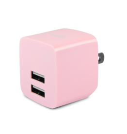 Logiix Logiix | USB Power Cube Rapide 2.4A / 12 Watt AC Charger - Rose LGX-12220