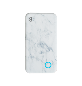 Logiix SO LOGiiX Piston Power 4000 mAh Portable Power Bank - Marble LGX-12781