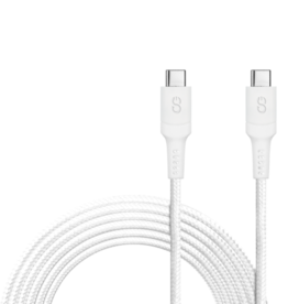 Logiix LOGiiX Piston Connect XL AS 3M USB-C to USB-C White LGX-12911