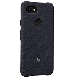 Google Google - Fabric Case Carbon (Black) for Google Pixel 3a 120-2453