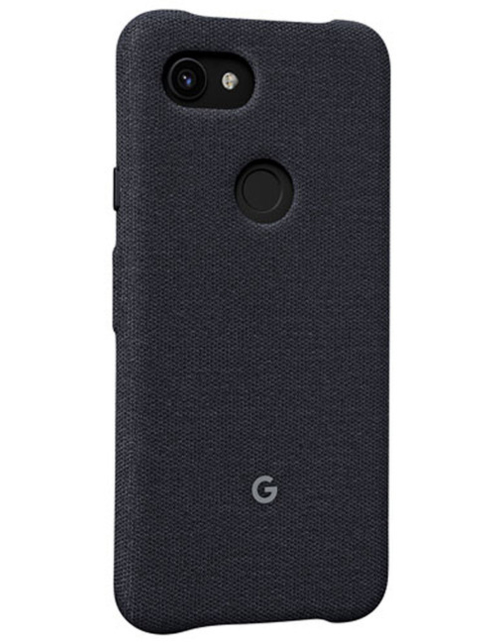 Google Google - Fabric Case Carbon (Black) for Google Pixel 3a XL 120-2451