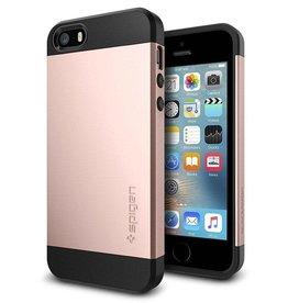 Spigen Spigen | Slim Armor Case for iPhone 5/5s/SE Rose Gold SGP041CS20176