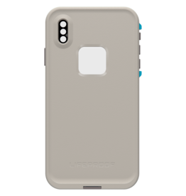 LifeProof LifeProof - Fre Waterproof Case Body Surf (Grey/Ocean Blue) for iPhone XS Max 120-0676