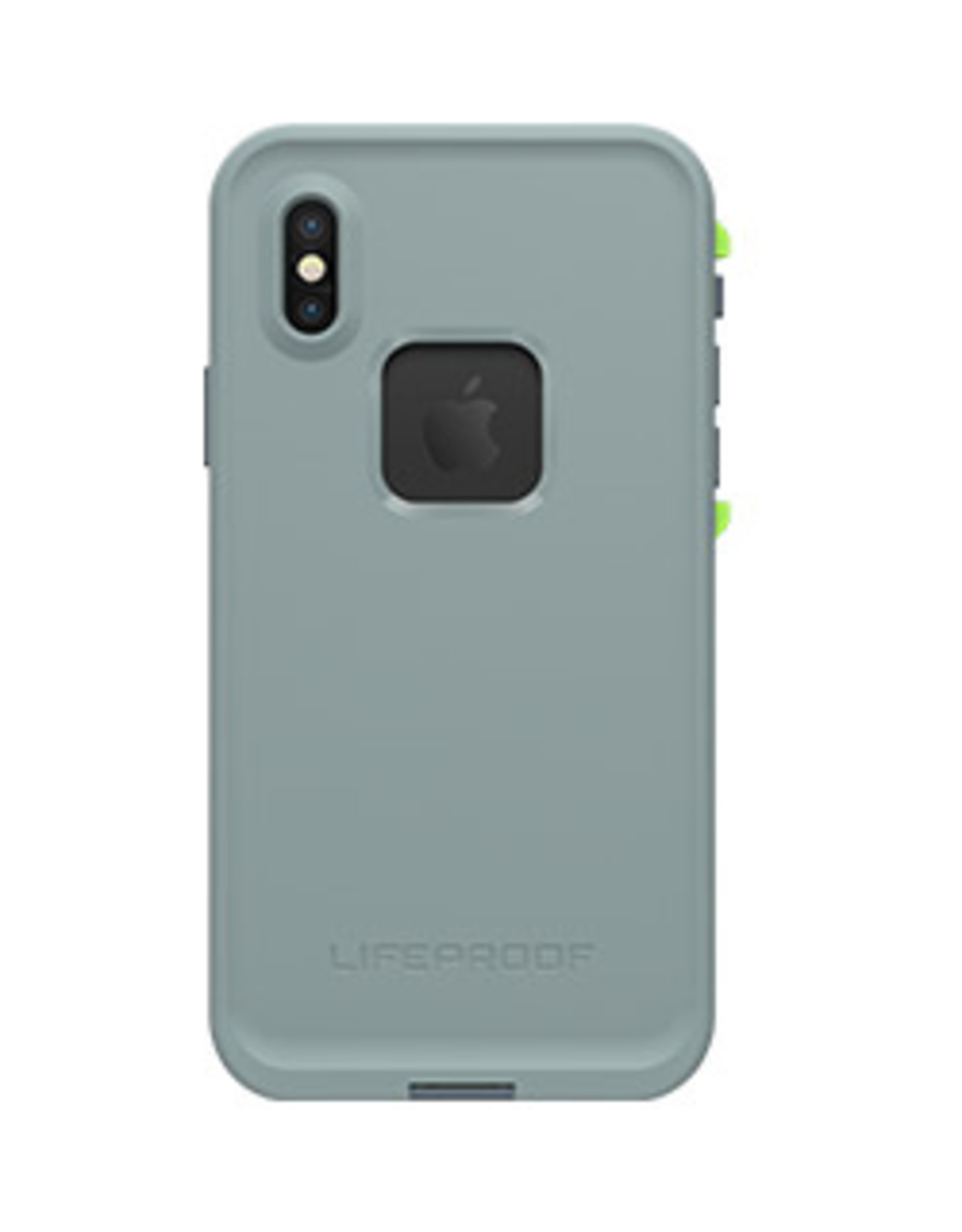 LifeProof LifeProof | iPhone X Lime/Grey (Drop In) Fre case 15-02404