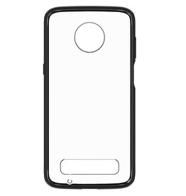 Blu Element Blue Element - Clear Shield Case Black for Moto Z3 Play 120-0622