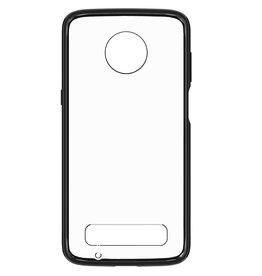Blu Element Blue Element - Clear Shield Case Black for Moto Z3 Play 120-0622