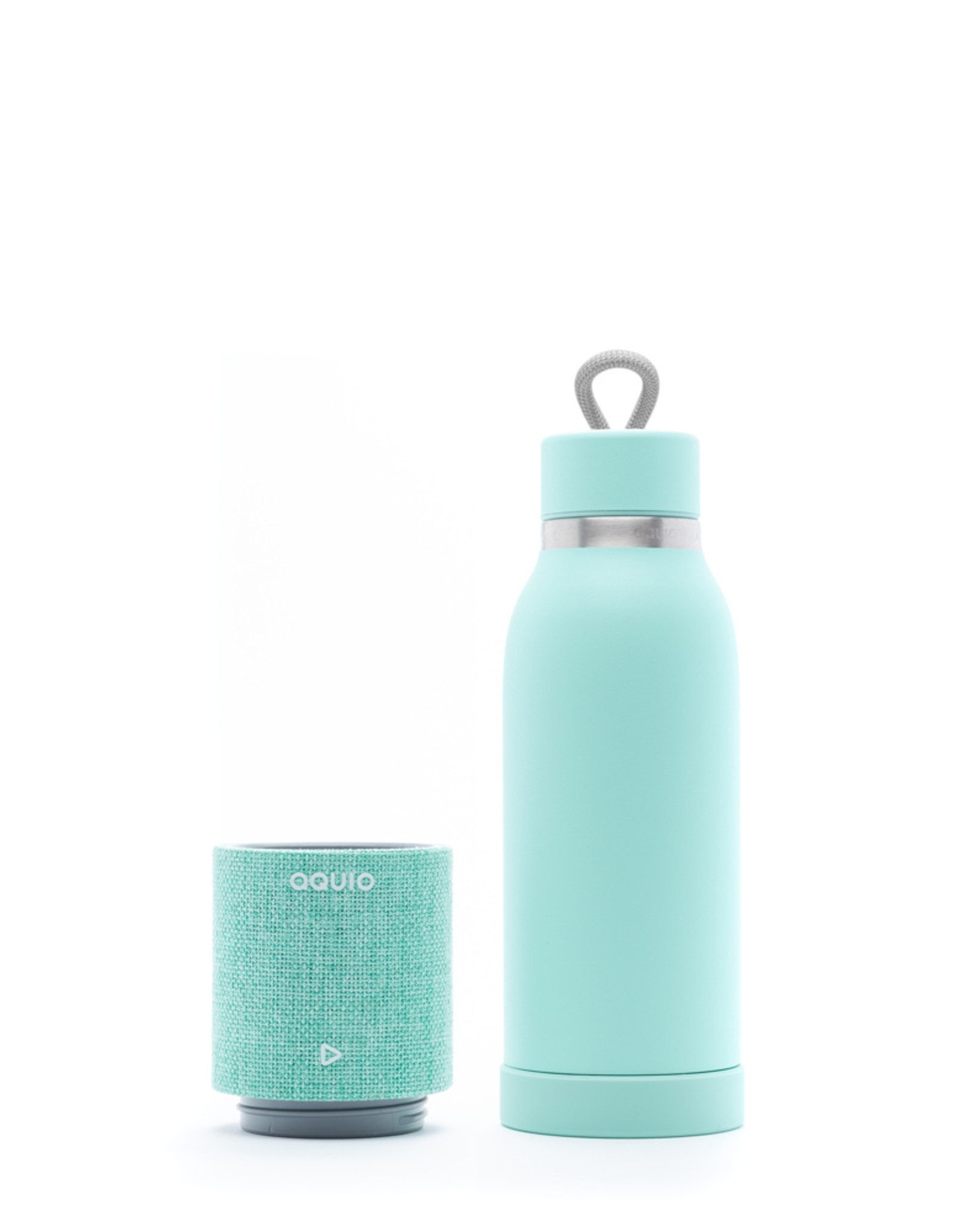 iHome iHome - Steel Insulated Bottle with Rechargeable Bluetooth Speaker Seafoam 115-1952
