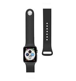 Naztech  | Apple Watch 44/42mm Black Silicone Watch Band 15-04683