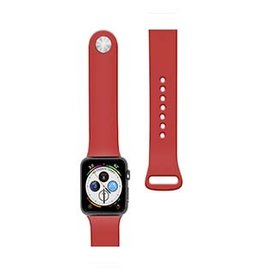 Naztech | Apple Watch 44/42mm Red Silicone Watch Band 15-04687