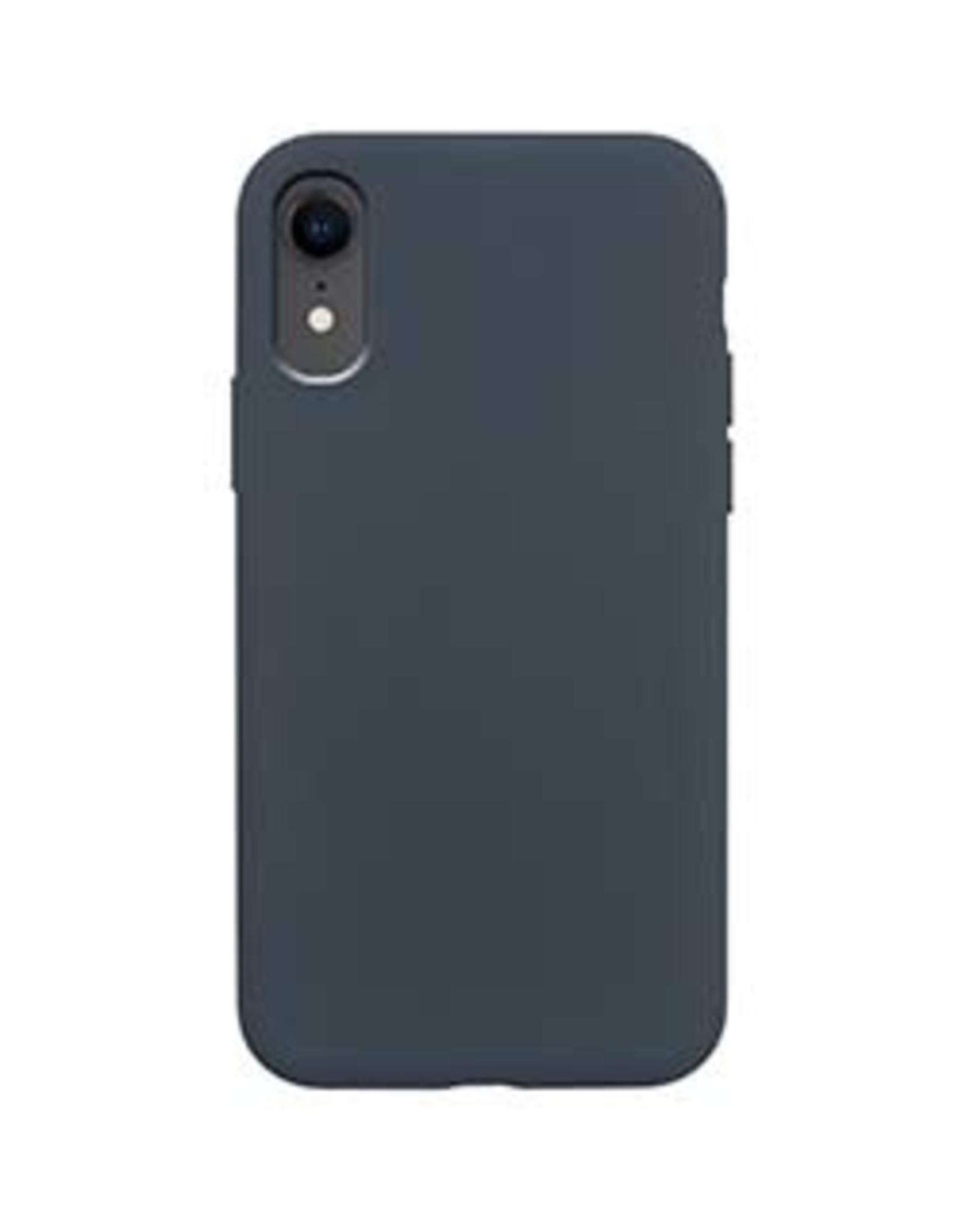 Uunique London | iPhone XR  Blue Liquid Silicone Case 15-04660