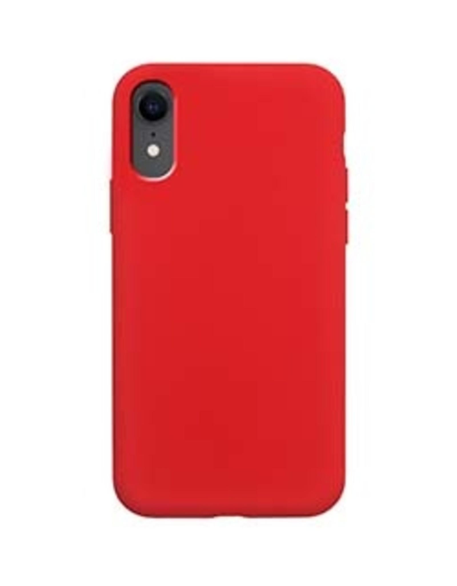 Uunique London | iPhone XR  Red Liquid Silicone Case 15-04659