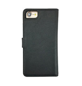 Uunique London Uunique London | iPhone 8/7/6S/6  Black Genuine Leather 2-in-1 Detachable Folio Case 15-04360