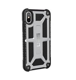 UAG UAG | iPhone X/Xs Black/Silver (Platinum) Monarch Series case 15-02089