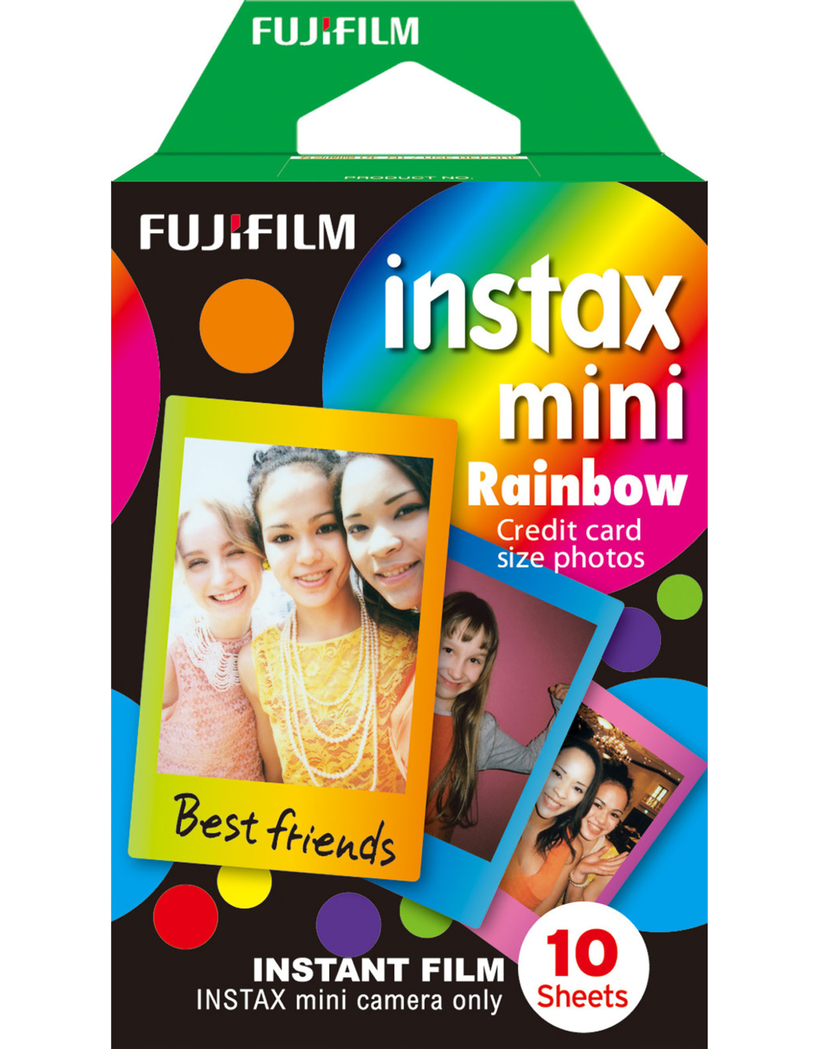 Instax Fujifilm   Instax Mini Rainbow Instant Film - Single Pack (10 Exposures) 600012871