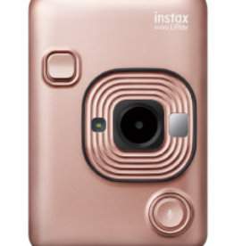 Instax Fujifilm | Instax Mini LiPlay Hybrid Instant Camera | Blush Gold 600020782