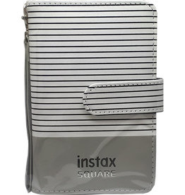 Instax Fujifilm | Instax SQUARE Photo Album - Grey Stripe