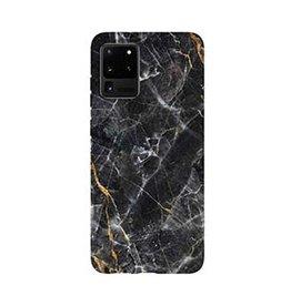 Samsung | Galaxy S20+ Uunique Black/Gold (Dark Star) Nutrisiti Eco Printed Marble Back Case 15-06645