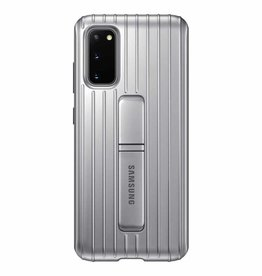 Samsung Samsung | Protective Standing Cover Galaxy S20 Silver 120-2840