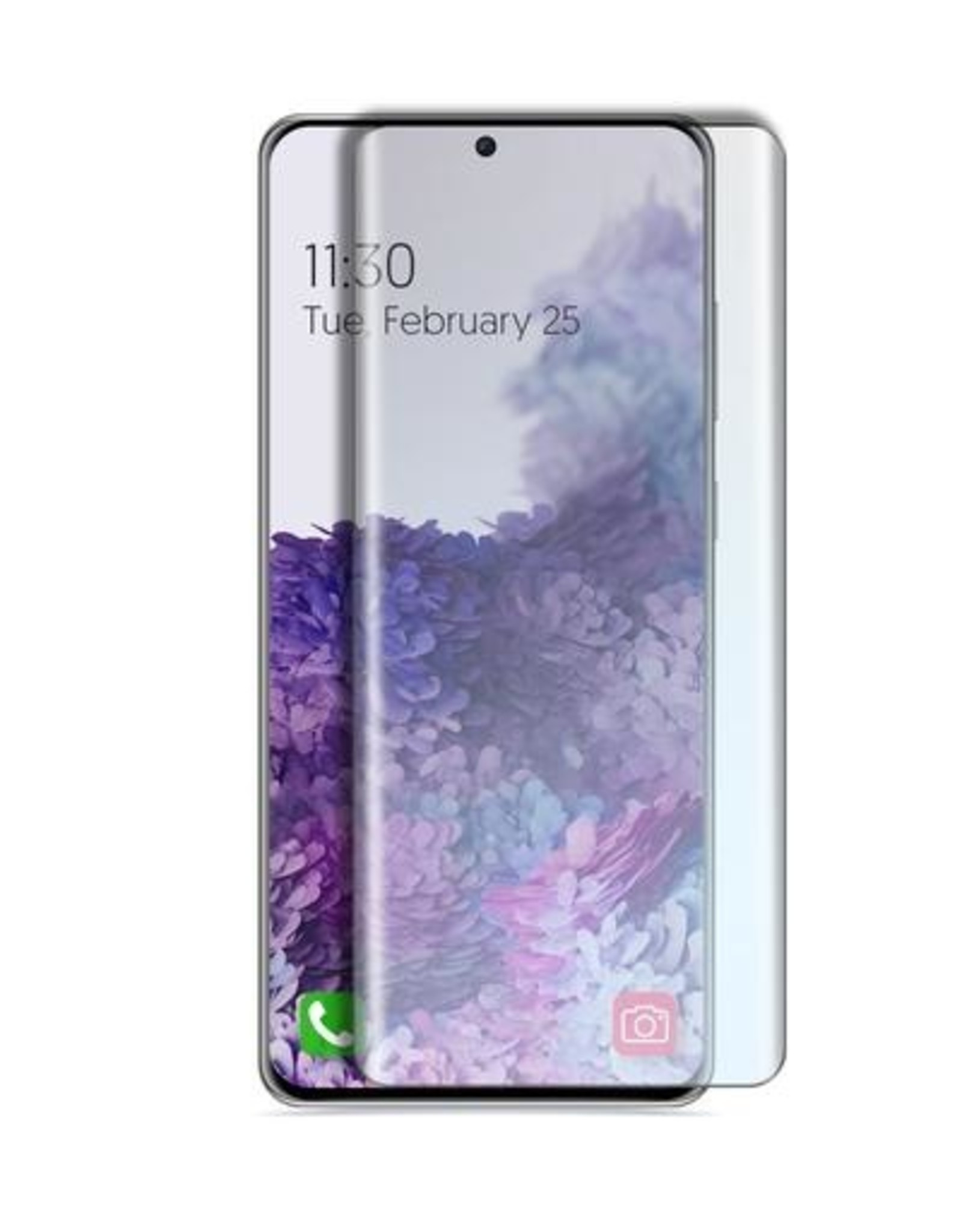 Caseco Caseco | Case Friendly Curved Side Glue Tempered Glass - Samsung Galaxy S20 Ultra C4533-00