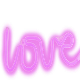 Furo FURO Neon Light  - Love FT8184