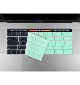 Logiix SO LOGiiX Phantom Shield Keyboard for MB Pro13/15 w/ touchbar - Turquoise LGX-12711