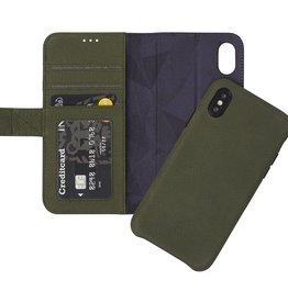 /// Decoded 2-in-1 Leather Wallet for iPX/Xs - Olive Green DC-D8IPOXWC7ON