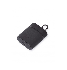 Leather AirCase for Apple AirPods- Black DC-D9APC2BK