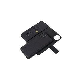 Decoded Leather Detachable Wallet for iPhone 11 Pro Full Grain Leather - Black DC-D9IPOXIDW2BK