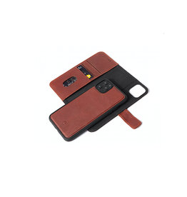 Decoded Leather Detachable Wallet for iPhone 11 Pro Max Full Grain Leather - Brown DC-D9IPOXIMDW2CBN