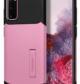 Spigen Spigen Slim Armor Case for SS Galaxy S20 - Rusty Pink SGPACS00660