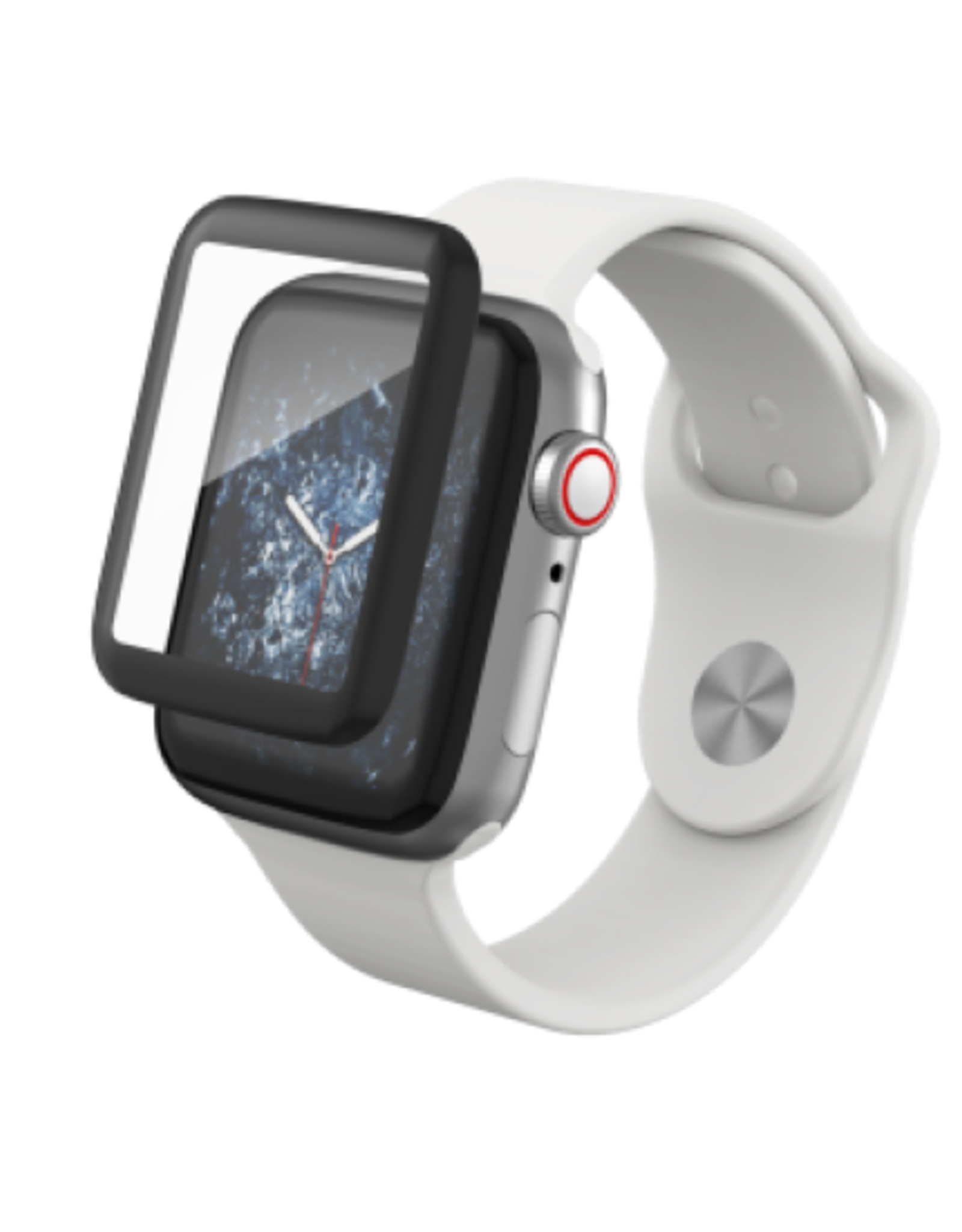 ZAGG | InvisibleShield Glass Curve Elite for Apple Watch Series 4 (40mm)-Clear IS-200102442