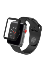 ZAGG InvisibleShield Glass Luxe Apple Watch Series 3 - Black (38mm) IS-200101300