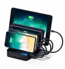 Satechi Satechi | 5-Port Charging Dock 5-Port USB - Black | ST-MCS5B
