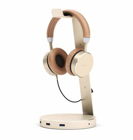 Satechi Satechi | Headphone Stand w/ USB 3.0 ports - Gold | ST-AHSHU3G