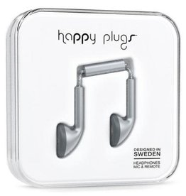 Happy Plugs Happy Plugs Earbuds with Mic - Space Gray BP 7833